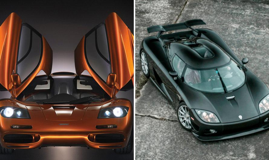 25 самых быстрых серийных автомобилей в мире