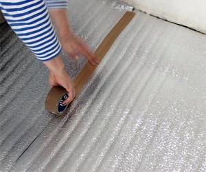 Выбор материала подложки под тёплый пол