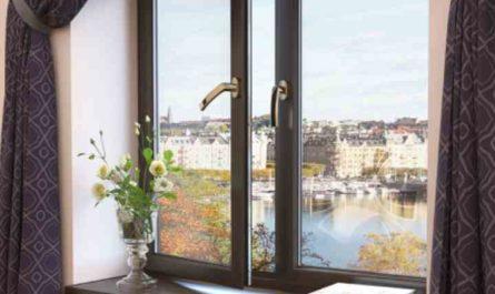 Ламинированные окна - виды и фото в интерьере, отзывы