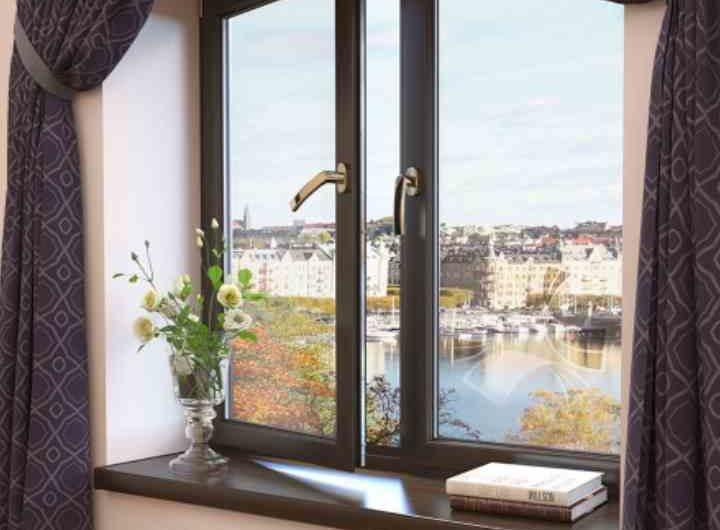 Ламинированные окна — виды и фото в интерьере, отзывы